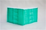 "Series 55 Green Tacky Intake Filters (20""x 50"" Bifold) (8/box)"