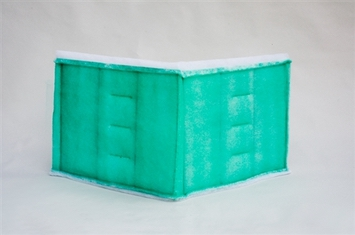 Series 55 Green Tacky Intake Filter (25 x 75) 6/box)