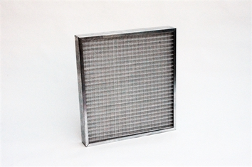 "Metal Pleated Prefilter (19""x39""x3.75"") (1/box)"