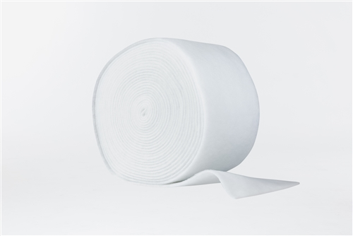 "All White Dry Poly Roll (60"" x 40 yards)"