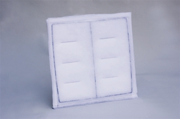 All White Dry Poly Panel Filter (20x20) (20/box)