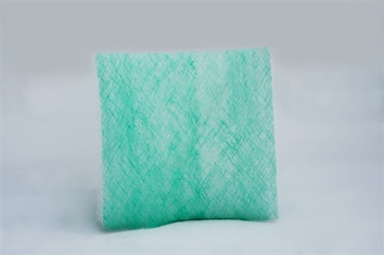 "12 Gram Green & White Fiberglass Pads (20"" x 20"") (50/box)"