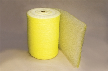 "22 Gram Yellow & White HD Fiberglass Roll (25"" x 300')"