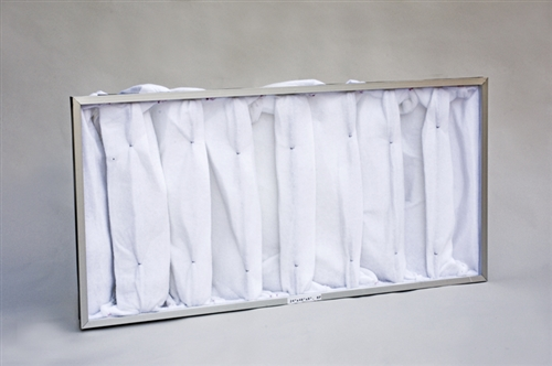 Extraction/Exhaust Filter Bag 7P w/HDR (39X43X10) (2/box)