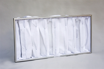 Extraction/Exhaust Filter Bag 8P w/HDR (22X40X12) (2/box)
