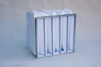 Prefilter 8 Pocket Bags with Header & Loops (24 x 20 x 36) (4/box)