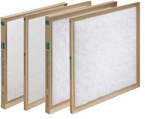 "24""x24""x2"" Disposable Fiberglass Filter with Cardboard Frame (12/box)"