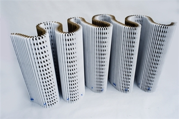 Hi-Efficiency Accordion Exhaust Filter (20 x 20) (28/box)