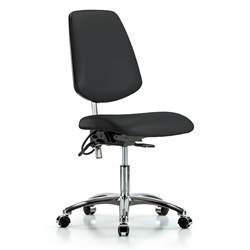 Perch ESD / Cleanroom Chair with Large Back