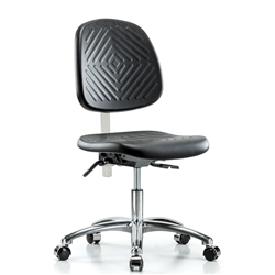 Perch Clean Room Ergonomic Industrial Chair Large Back