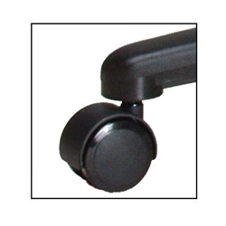 Hard Floor Casters - Set of 5