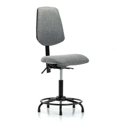Perch Lab Chair Large Back Tubular Base