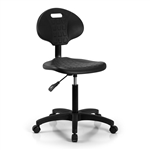 Perch Industrial Work Chair with Handle