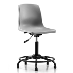 Perch Shell Chair Tubular Base