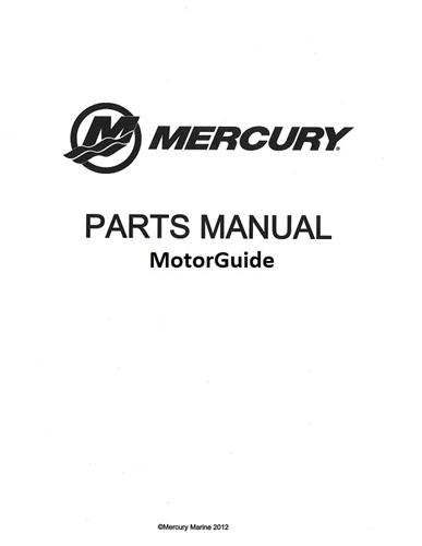MotorGuide Parts Manual