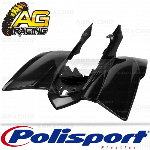 Polisport Plastic Black Rear Fender For Yamaha YFZ 450 2004-2008 Motocross  Enduro