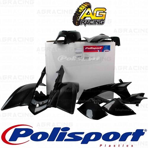 Polisport Plastics Quad Box Kit For Yamaha YFZ 450 Black 2004-2008