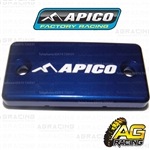 Apico Blue Front Brake Master Cylinder Cover For Yamaha YZ 80 1994-2001