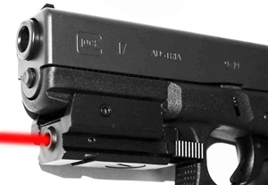 Trinity tactical red sight for glock model 17 home defense accessory aluminum black picatinny weaver base mount.