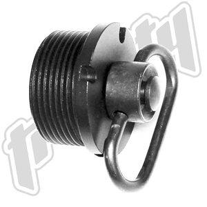 Trinity swing swivel end cap for mossberg 500 grip aluminum black hunting tactical accessory.