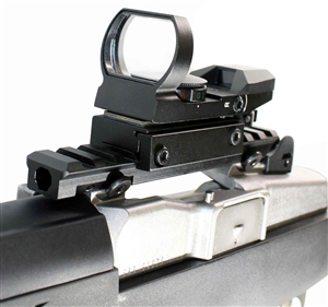 Ruger Mini 14 Mini 30 Reflex Sight With Rail Mount.