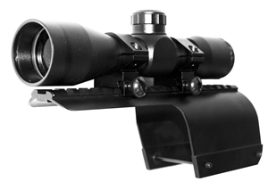 4x32 Tactical Mil-dot Scope With Mount For 12 Gauge Benelli Nova/Super Nova.