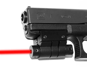 Trinity red dot sight for 9mm glock model 17 home defense accessory aluminum black picatinny weaver base mount.