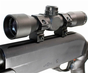 Trinity 4X32 scope with mildot reticle for ati tac px2 dovetail rail system aluminum black hunting optics tactical target range home defense accessory.