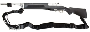 Trinity 2 point sling black for Ruger Mini 14 and Mini 30 models home defense hunting security military accessory.
