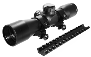 4x32 Scope With Mount For H&R1871 NEF Pardner Pump.