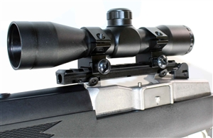 4x32 Hunting Scope With Rail Mount For Ruger Mini 14-Mini 30.