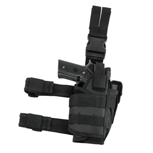 Trinity tactical adjustable leg holster black security law enforcement home defense gear.