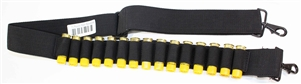 Trinity 15 round shell bandolier sling for 20 gauge pump home defense hunting security military accessory.