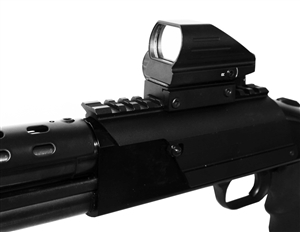 Reflex Compact sight with saddle kit for Mossberg 500 590 88 12 gauge.