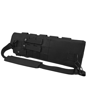 Short Barrel Scabbard Black 25