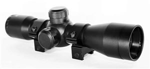 4X32 Combat Scope With Mil-Dot Reticle.