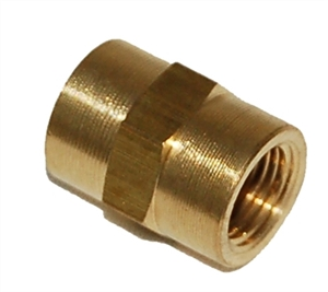 "1/8"" FPT X 1/8"" FPT Brass Female Coupling/FPC220"