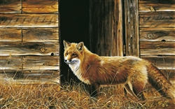 Red Fox and Grainery