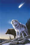 Wolves Under Hale-Bopp