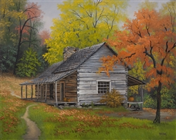 Appalachian Retreat-Autumn by Kyle Wood