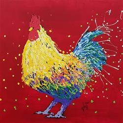 Archie the Rooster by Jeff Boutin
