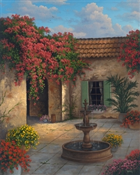 Patio Hacienda by Kyle Wood