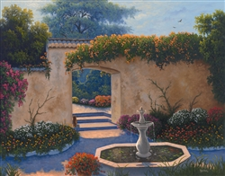 Hacienda Garden by Kyle Wood