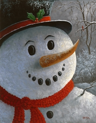 Frosty (snowman) by Kyle Wood