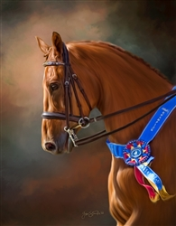 Born to Win - Horse by Lois Stanfield