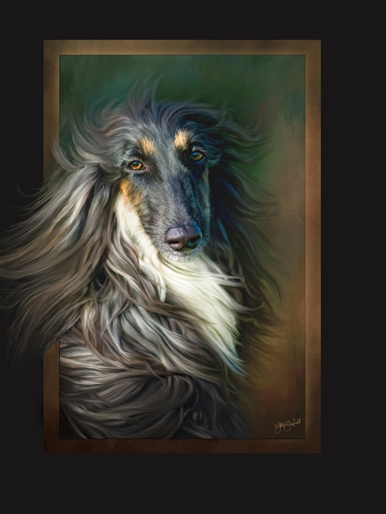 Prince of Hounds - Dog by Lois Stanfield
