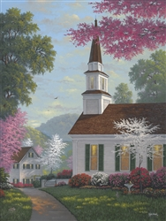 Chapel in the Hills-Spring by Kyle Wood