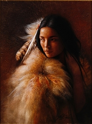 Young Indian Maiden by Lee Bogle