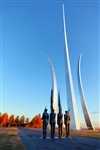 Air Force Memorial - Morning by Mitch Catanzaro
