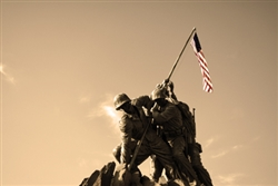 Marine Corps Memorial by Mitch Catanzaro